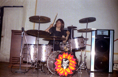 A pre-ELP Carl Palmer, with the Crazy World of Arthur Brown