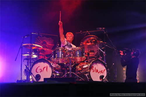Carl Palmer with ELP in 2010. Photo ©Mike Inns
