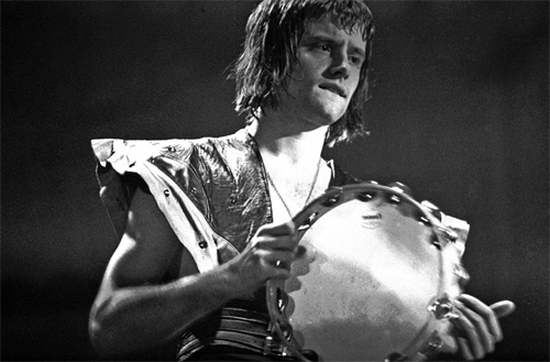 Carl Palmer with ELP in Germany. 1973