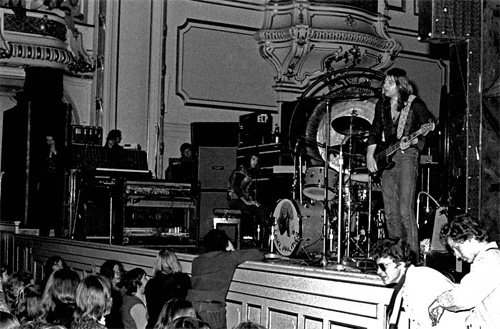 ELP in Hamburg, Germany. 1971